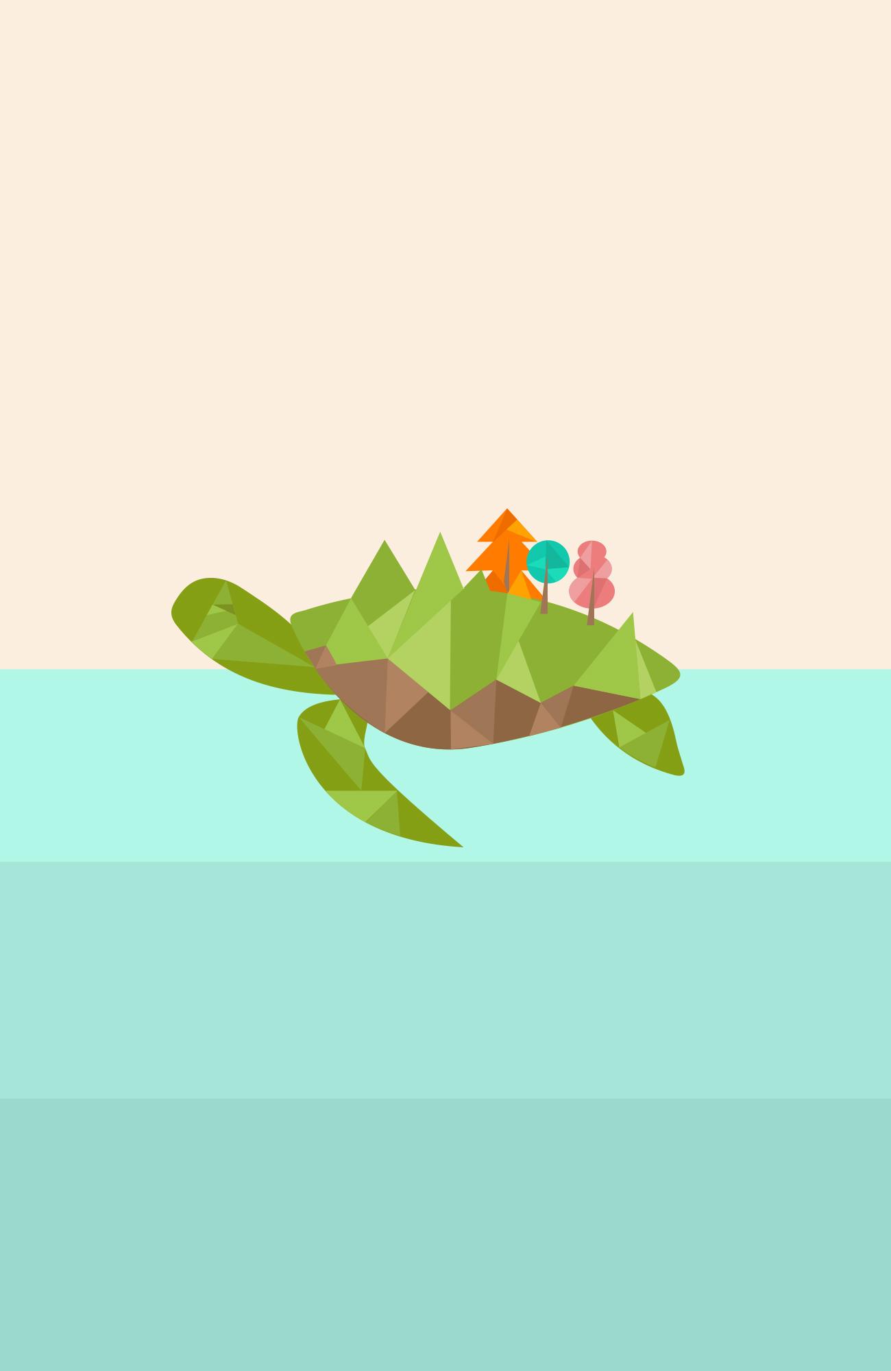 free turtle wallpaper daniela jimenez