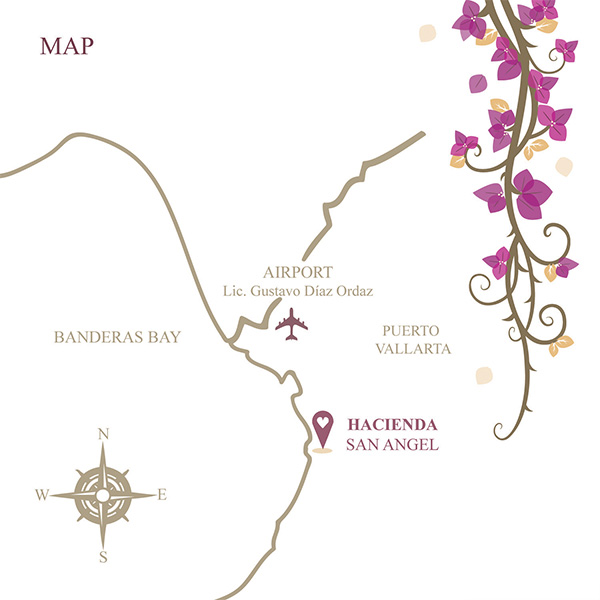 Hacienda San Angel Map Daniela Jimnez
